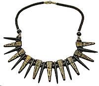 Ожерелье резное из кости
