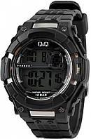 Часы водостойкие 100м Q&Q m125j001y (unisex).