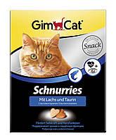 Gimpet Schnurries витамины для кошек с таурином и лососем 650 шт (409382)