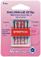 Иглы для бытовых швейных машин стрейч № 75.