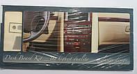 Автомобильный декор салона Skoda Octavia 00 серого цвета