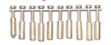 Планка соединительная JXB-GK3-2.5/10L