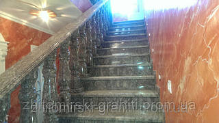 Гранітні сходи фото 7