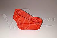 Красные овальные бумажные формы П-8, фото 1