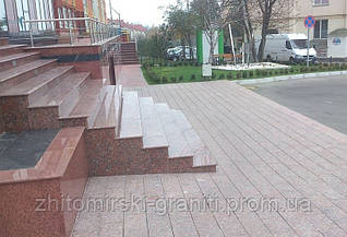 Гранітні сходи фото 9