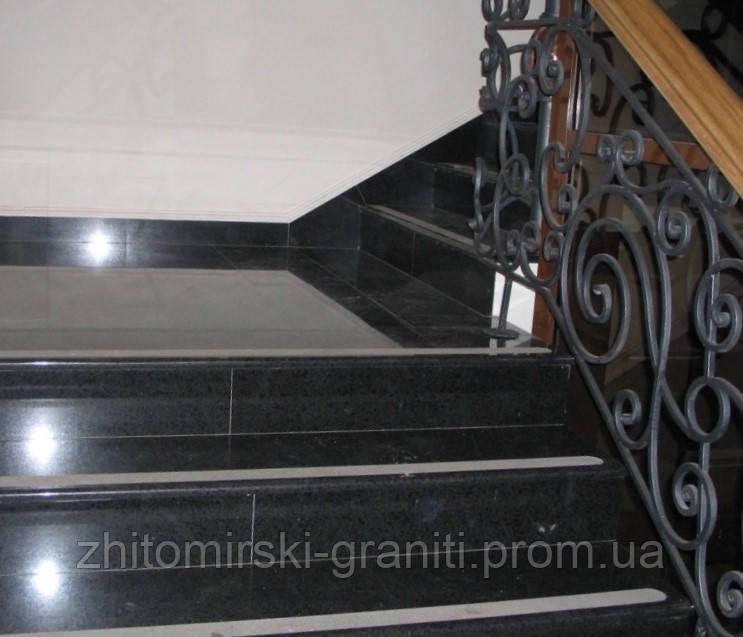 Гранітні сходи фото 10