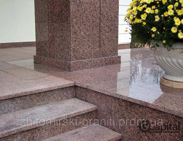 Гранітні сходи фото 11