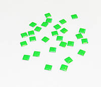Заклепки для ногтей,зеленые( 20 шт)