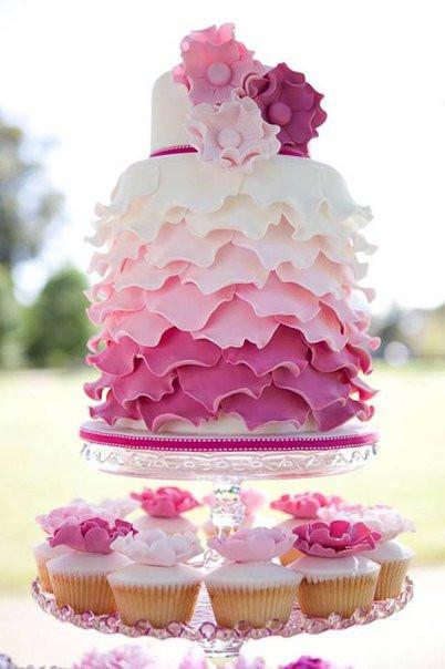 Идеи оформления праздничных тортов