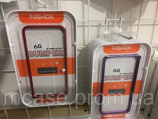Металлический Бампер для iPhone 6/6S Яркий Классический