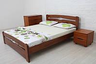 Кровать из массива бука Каролина Mix с изножьем