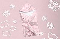 Конверт-одеяло Медвежонок Розовый