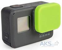 Aksline Крышка силиконовая на линзу камеры для GoPro HERO5 Black Edition Green