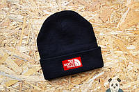 Стильная мужская шапка The North Face Beanie черная