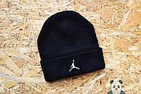 Стильная шапка мужская джордан,Jordan черная