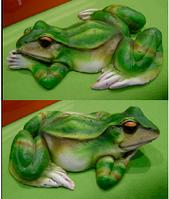Декорации для пруда декоративная лягушка