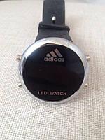 Спортивные часы LED WATCH, Лед черные ( код: IBW023B )