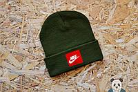 Молодежная мужская шапка найк,Nike, фото 1
