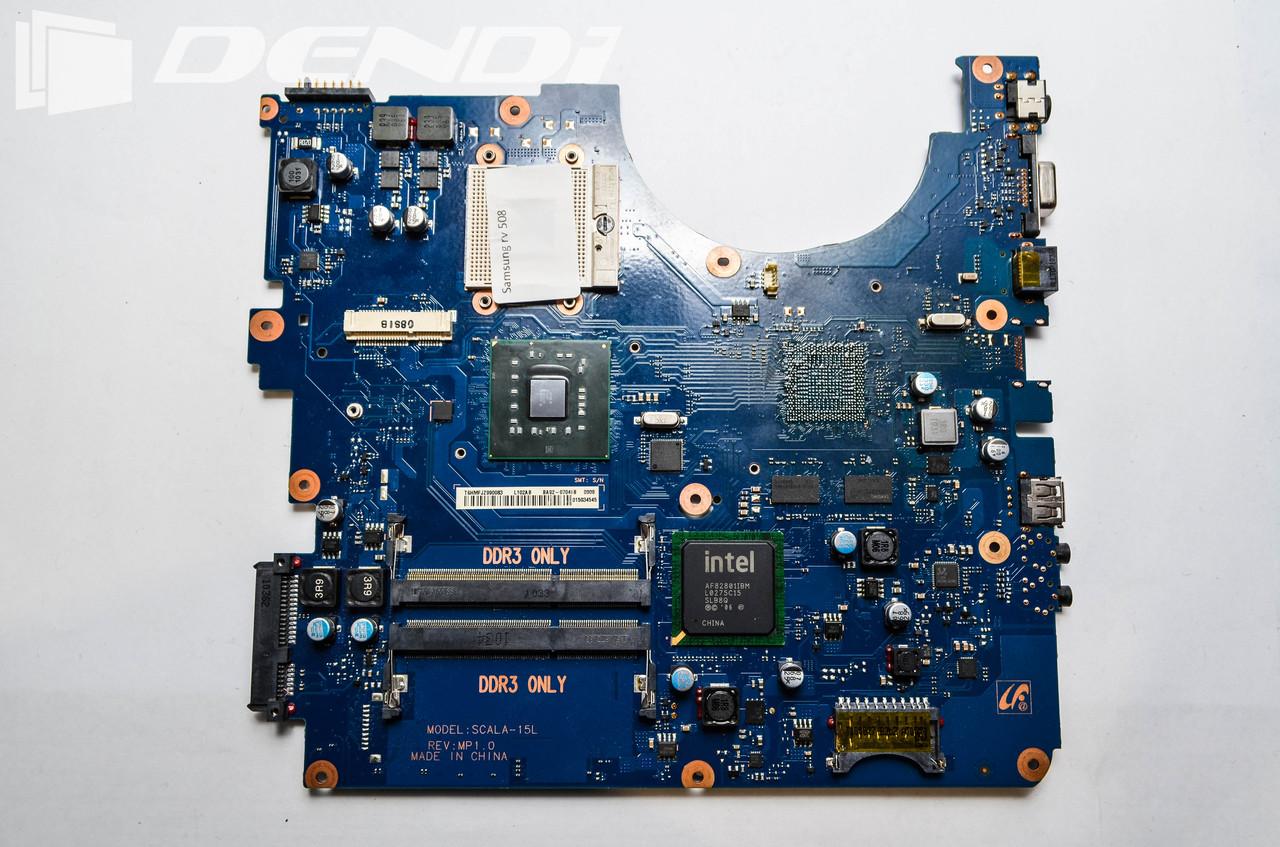 Материнская плата Samsung RV 508 (В нерабочем состоянии. Под восстановление или на запчасти)