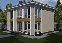MS229 проект двухэтажного дома с подвалом.