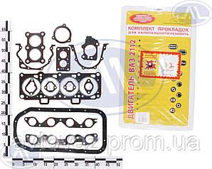 Прокладка двигуна ВАЗ 2110, ВАЗ 2111, ВАЗ 2112 двигун (повний набір) 1,5; 1,6 16кл БЦМ