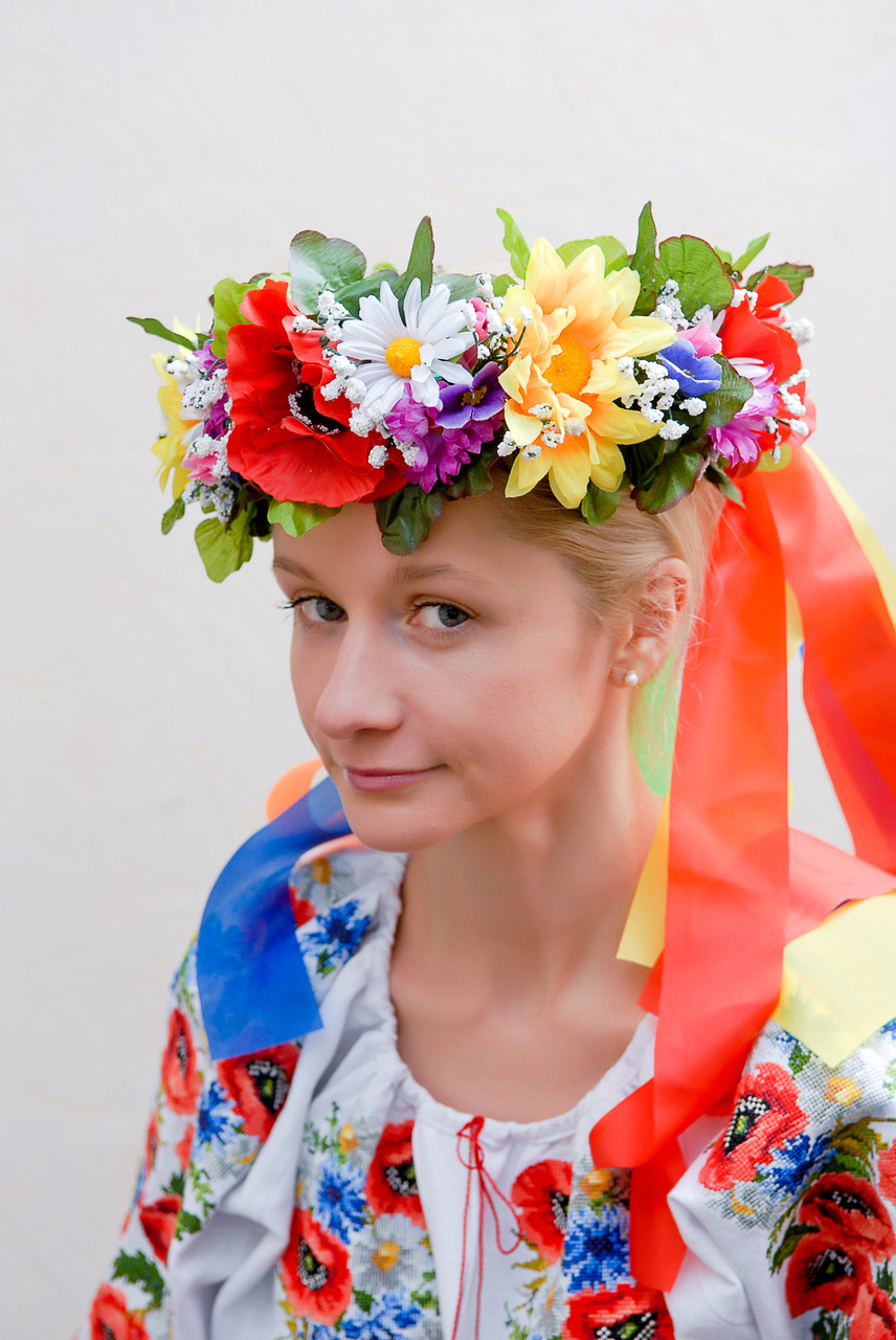 украинский веночек картинки