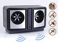 Электронный отпугиватель грызунов и насекомых Dual Sonic, 2 Вт, 160 дБ, 14х6,5х8,5 см, 170 г
