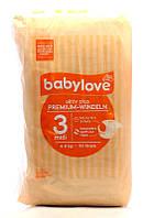 Babylove Подгузники aktiv plus 3 midi (4-9 кг) 50 шт.