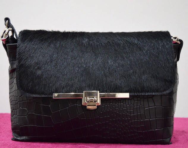 Кожаная сумка из Италии