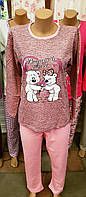 Пижама на байке со штанами Baray медведи