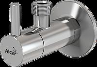 Угловой вентиль с фильтром 1/2 × 3/8, круглый AlcaPlast ARV001