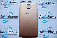 Задняя панель корпуса для мобильного телефона Samsung Galaxy Note 3 / N9002 / N9005 / N9000 Gold