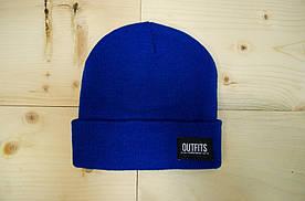 Шапка - Outfits - Classic Tag2 Royal Beanie (Зимняя\Зимова шапка)