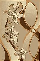 Ковер Фриз коричневый 0,6х1.1