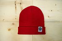 Шапка - Outfits - Classic Tag Red Beanie (Зимняя\Зимова шапка)