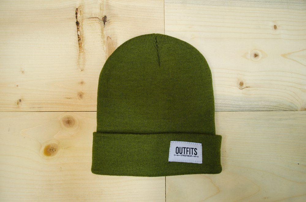 Шапка - Outfits - Classic Tag Olive Beanie (Зимняя Зимова шапка ... 3df6f28dc3d1a