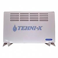 Электрический обогреватель воздуха конвективного типа Tehni-x ЭК -1,0 ТС 1000 Вт с автоматической регулировкой