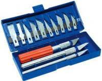 Набор ножей для резьбы по дереву Technics (43-325) 3 ножа + 13 лезвий (уп.)
