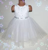 ДетскоеКрасивое нарядное платье для девочки 2-5 лет (без шнуровки на молнии)