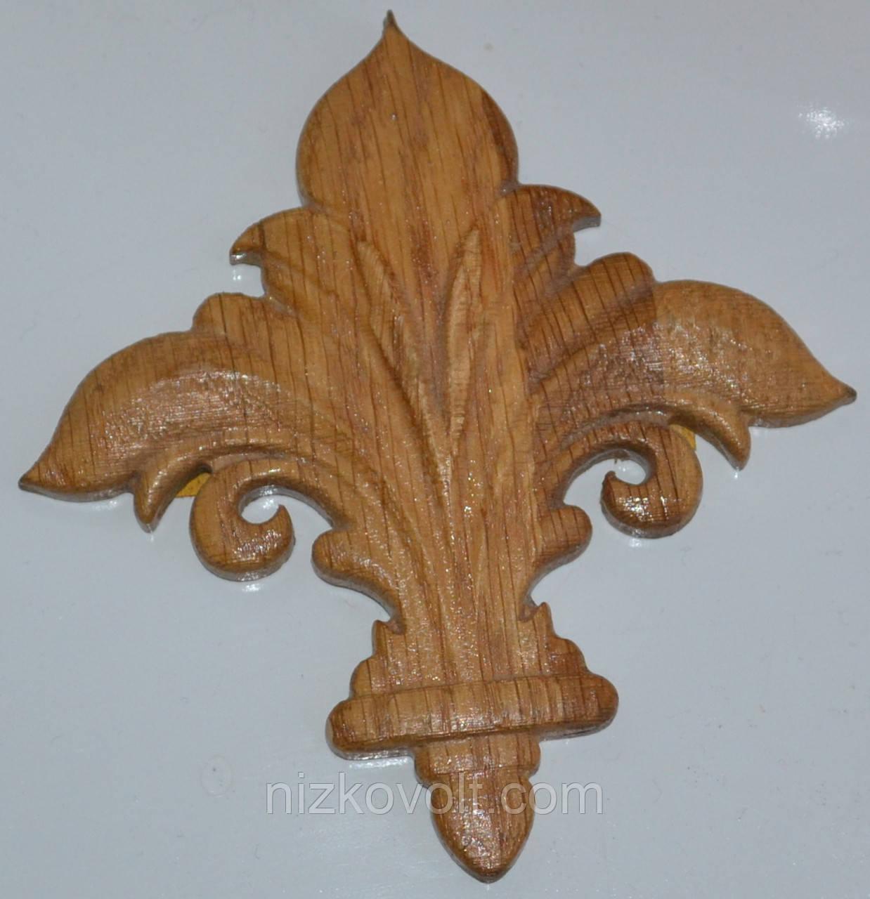 Декоративный элемент для мебели из дерева, фото 1