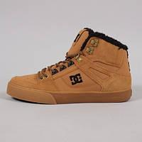 Зимове взуття DC Shoes - Yellow Hi-Top (Зимние кеды\ботинки\обувь\тимберленд)