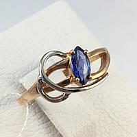 Кольцо с сапфиром золотое 585 проба
