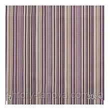 Ткань для штор в полоску фиолетовую с водоотталкивающим покрытием Ткань на метраж Турция 180 см