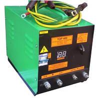 Пускозарядное устройство для авто аккумуляторов ТОР-400П — для 24 и 12В легковых и грузовых авто, пуск-400А