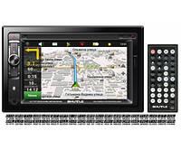 Автомагнитола с GPS навигатором Shuttle SDUN-6950 Bl/Multi 2 Din (Navitel map) Мультимедийная станция