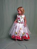 Детское праздничное платье эффект 3D