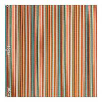 Ткань для штор полоска оранжевый