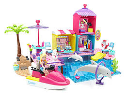 Барби пляжная прогулка конструктор Мега Блокс Mega Bloks Barbie Beach Boardwalk
