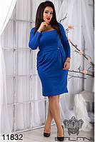 Деловое  женское  платье (48-54), доставка по Украине