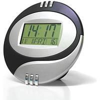 Часы электронные настольные KENKO KK 6870, часы для дома, электронный будильник, часы с термометром